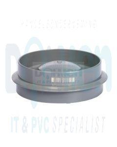 Lijm combi kap 110mm grijs